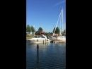 Soon we sail a little trip In my friends boat