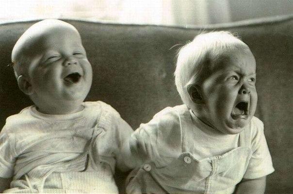 Согласно исследованиям французских невропатологов, у плачущего человека задейств...