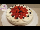🍰 ЗЕФИРНЫЙ ТОРТ с 🍓КЛУБНИКОЙ🍓и СМЕТАННЫМ КРЕМОМ Marshmallow cake with strawberries