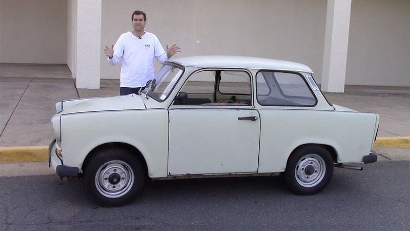 Trabant был ужасной машиной, сделанной коммунистами