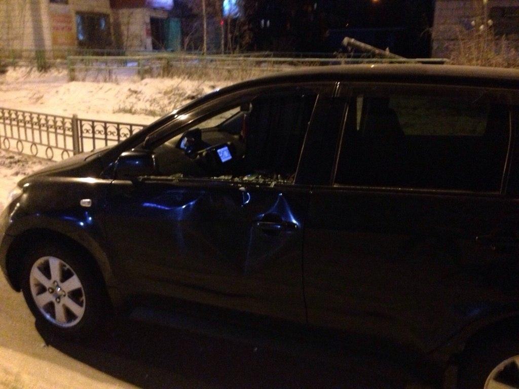 В Якутске водитель сбил девушку на пешеходном переходе