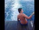 На яхте в Красном море.