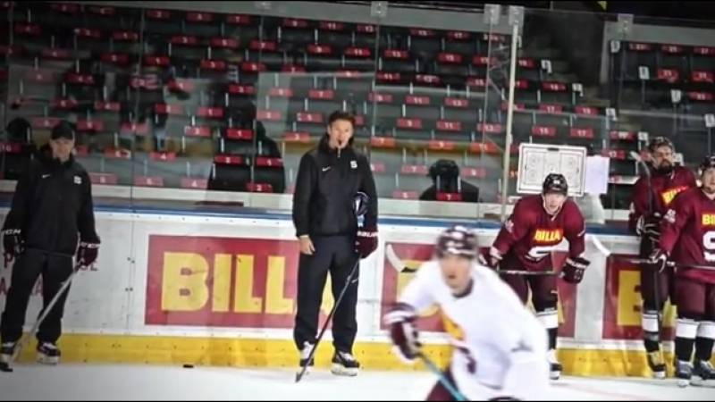 Sparťané jsou první týden na ledě a pod koučem Uwem Kruppem makají na plné obrátky jsmeSparta hokej video ice telh hcsparta