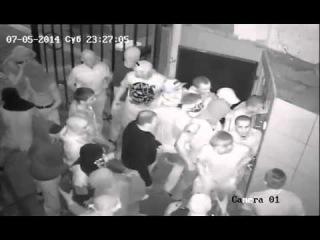 Нападение Украинской Дивизии на гей - клуб Помада Киев 5 июля