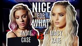 Drake - Nice For What Mash Up (SING OFF vs Andie Case)