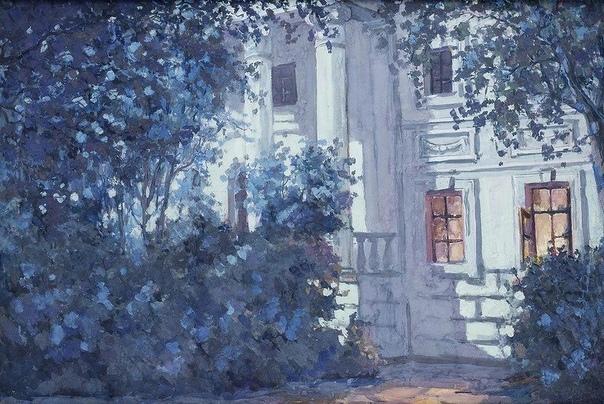 на острове моих воспоминаний есть серый дом. в окне цветы герани, ведут три каменных ступени на крыльцо. в тяжёлой двери медное кольцо. над дверью барельеф - меч и головка лани, а рядом шнур,