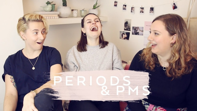 Periods, Hormones, PMS | Flatmate Chat | Lucy Moon | AD