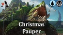 MTG Arena GRN Pauper Christmas Control DeckTech Gameplay Festive