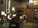 Тренировка по боксу в Кингисеппе 1990 г