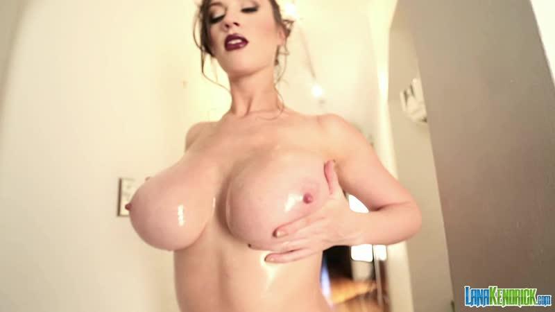 Lana Kendrick purple lace ( erotic, эротика, fetish, фетиш, big boobs, score, model )