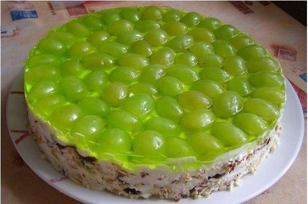 Торт виноградинка фото