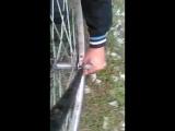 Дрон делает велосипед???