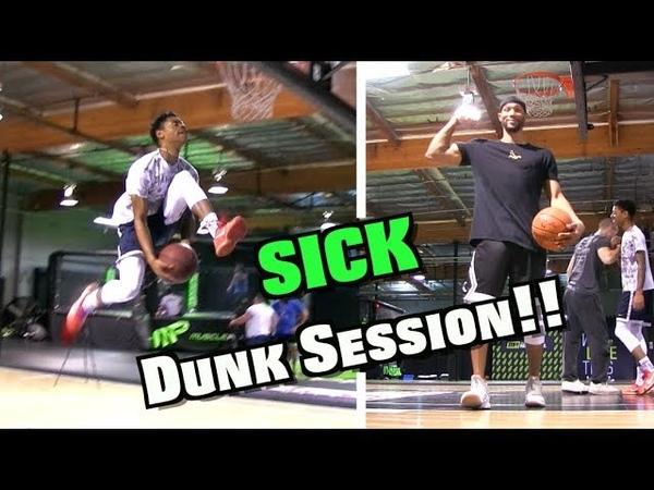 RAW Dunks Tyler Currie Chris Staples Dunk Session