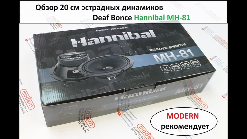 Обзор на 20 см эстраду Hanniball MH-81
