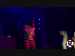 Фристайл Denzel Curry во время концерта в Остине