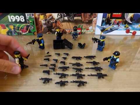 BrickArms - Лучшее лего оружие и экипировка? / Lego weapons.