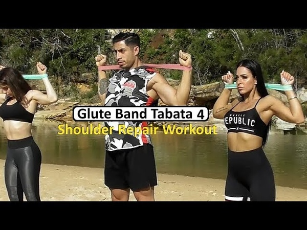 SHOULDER REHAB Loop Band Workout Series Session 4 Coach Ali Glute Band Workouts Series