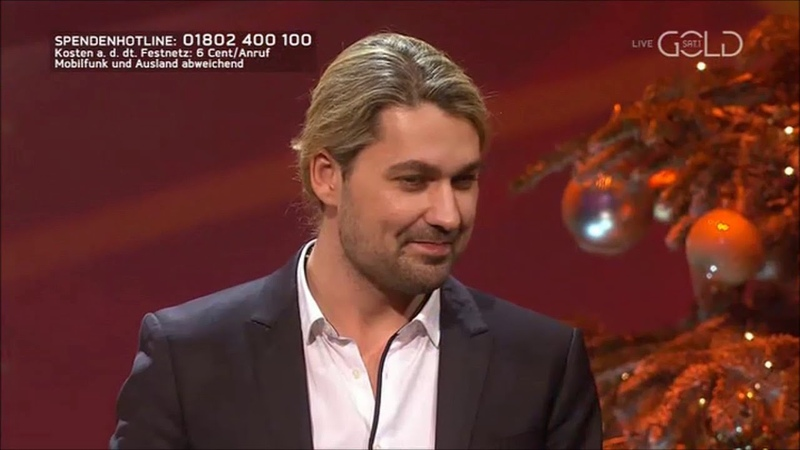 David Garrett at the José Carreras Gala 2018 - Hey Jude - SAT 1 GOLD (12-12-2018)