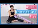 Resistance Band Exercises For Ballet Feet   Tips On Ballet Technique