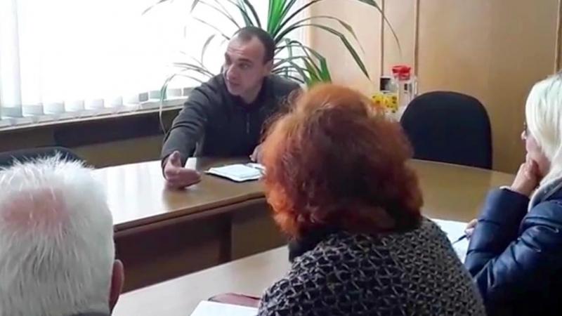 С.Чередніченко про водопостачання на Холодній