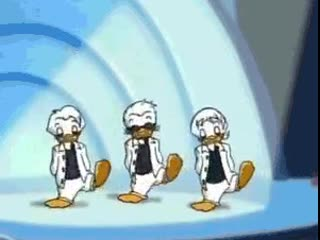 Shout out to when Huey, Dewey, and Louie were the Quackstreet Boys. @DuckTalks a.mp4