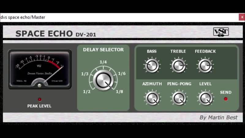 DVS Space Echo DV201 by Dream Vortex Studio