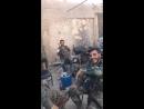 Герои Сирийской Арабской армии .. в перерыве между боями .. Пусть Бог защитит вас!