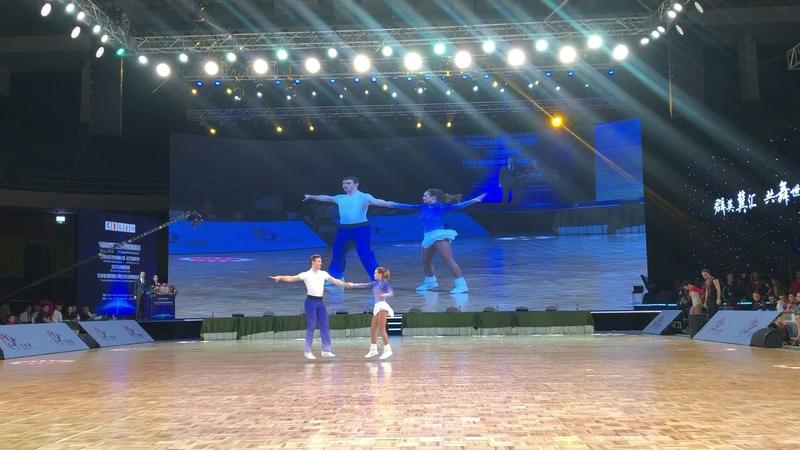 Final acro MCFS MALKIN Georgy LEVCHENKO Alina 5 place China 04 05 2019