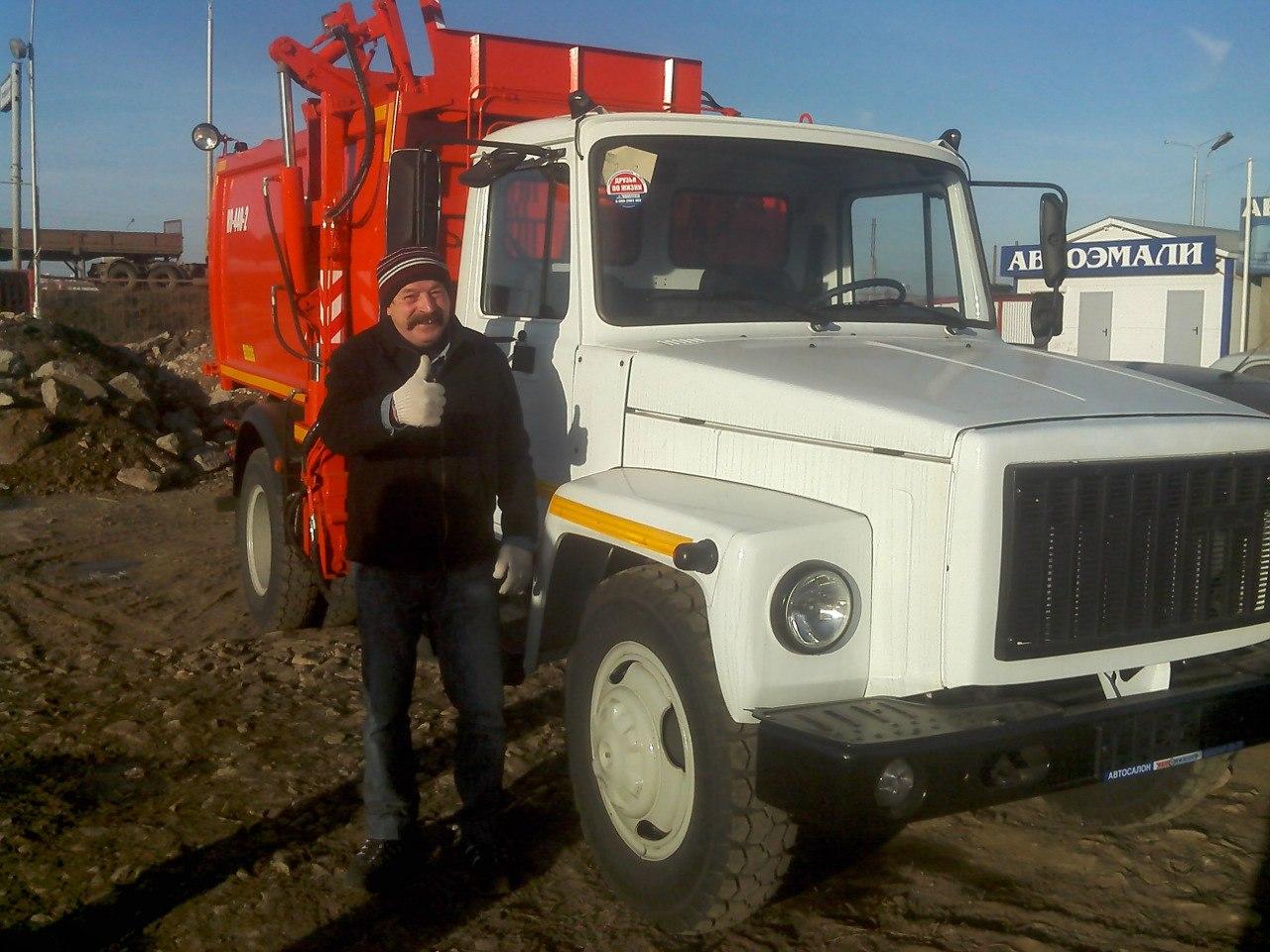 ГАЗ 3309 КО-440-2