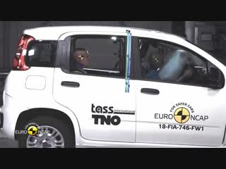Euro NCAP Crash Test of Fiat Panda