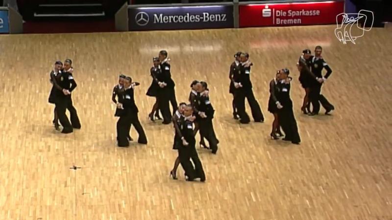 DUET Perm, RUS _ 2014 World Formation Latin _ DanceSport Total