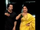 Мадхури и Варун танцуют на теле шоу ДД