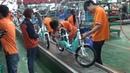 Китайские электровелосипеды и скутеры. Сборочный конвейер