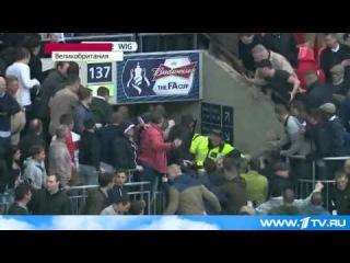 Полуфинал Кубка Англии по футболу выдался ударным