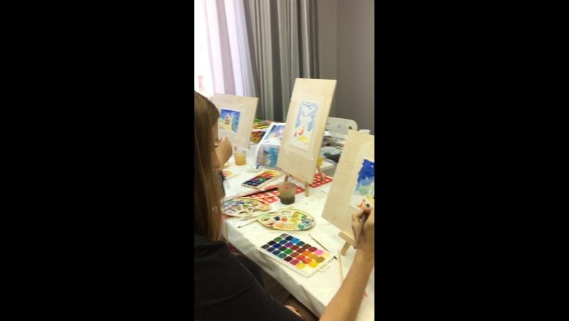 МК по Живописи для взрослых