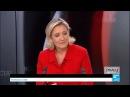 Marine Le Pen Les réfugiés, on les renvoie chez eux