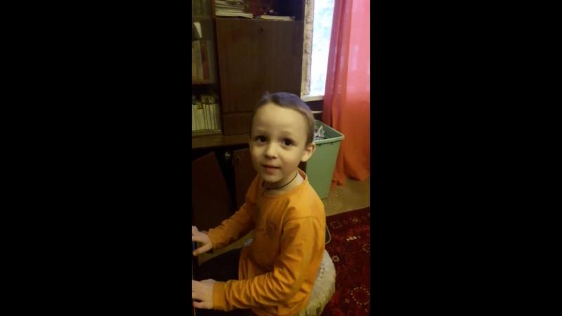 Андрейка и фортепиано