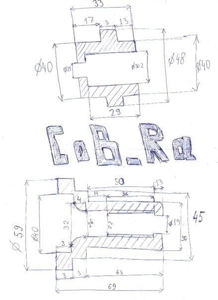 Чертежи втулок для необслуживаемых ступиц для классики. - LADA VFTS