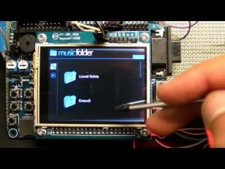 MP3 Player with scrolling menu on ARM® Cortex™-M3 (Beatstream 2.0)