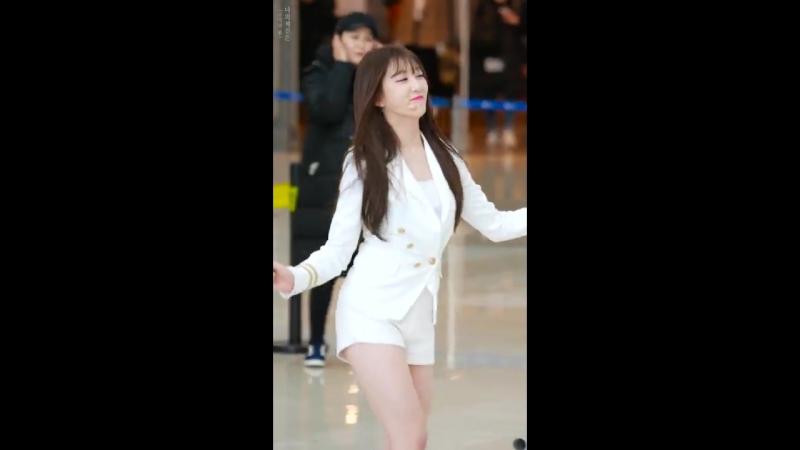 [4k fancam] 180211 더 유닛 (UNI.T) 이수지 - 달콤해, Ting(팅) 댄스 직캠