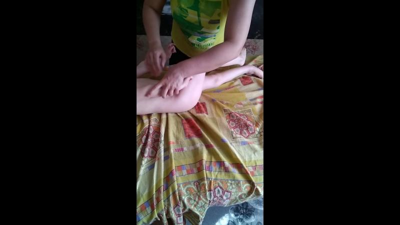 проведение контактного и безконтактного массажа ребенку