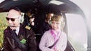 Предложение руки и сердца на вертолёте с надписью АЛЛА ВЫХОДИ ЗА МЕНЯ с Простые Радости