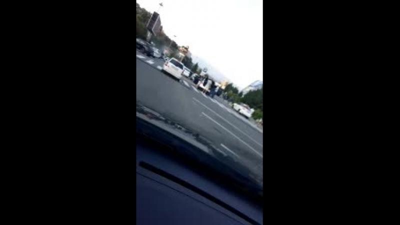 АДЛЕР Ускоренное видео о голос слышно Заезд Эстонцев на ул ульянова в люкс.