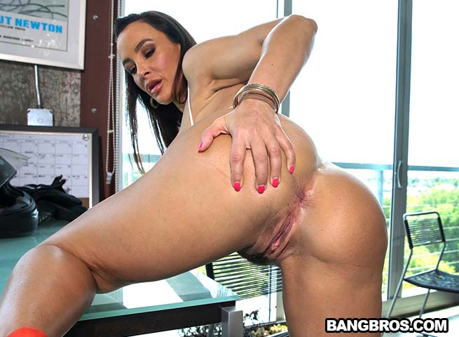 Busty Lisa Ann Gets All Holes Filled By...