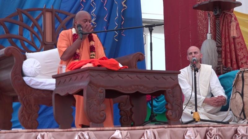 1) E.C. Шрила Девамрита Свами Махарадж - Где Кришна? Лоно Деваки, Матхура, Вриндаван? (1 ч.)