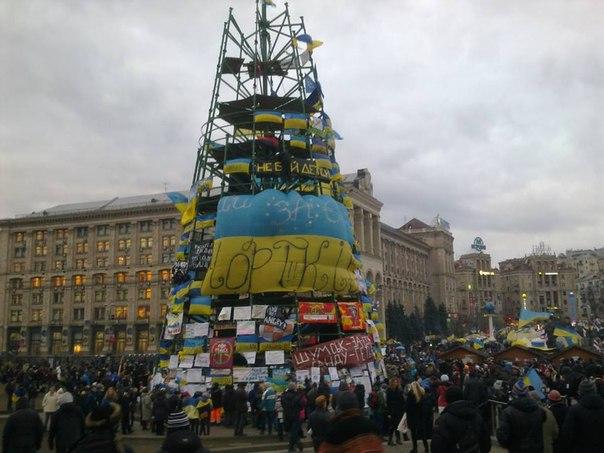Новорічна ялинка в Києві
