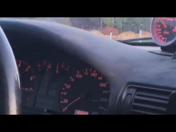 Audi a4 B5 Quattro разгон до 100 на стандартной турбине К03