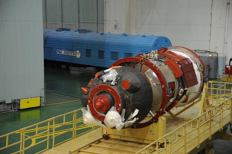 Начата подготовка космического корабля «Союз ТМА-14М» TDID8-ibMl8