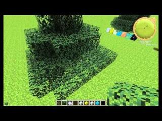 Красивые постройки в Minecraft (Новогодняя ёлка)