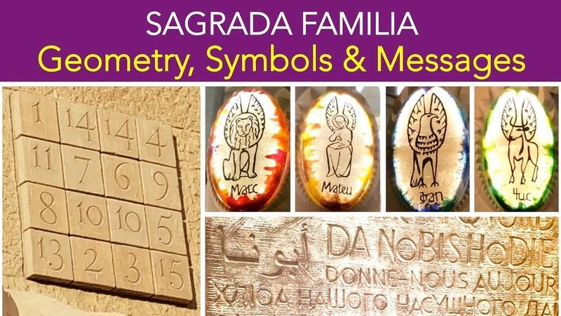 [ Sagrada Familia ] Beautiful Geometry, Symbols, Messages | Legacy of Gaudi | Barcelona Spain